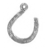 Pendant Horseshoe Antique Silver